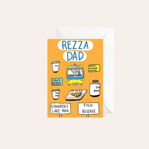 Able and Game Card - Rezza Dad