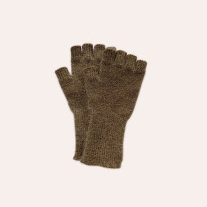 Fingerless Gloves - Medium - Cadbury