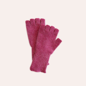 Fingerless Gloves - Medium - Pink