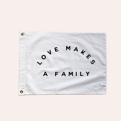 Flag - Love Makes A Family - Small Size