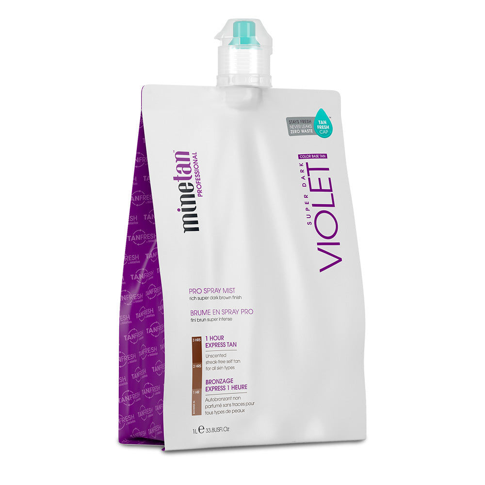 Minetan Professional Sunless Spray Tan Solution - Violet