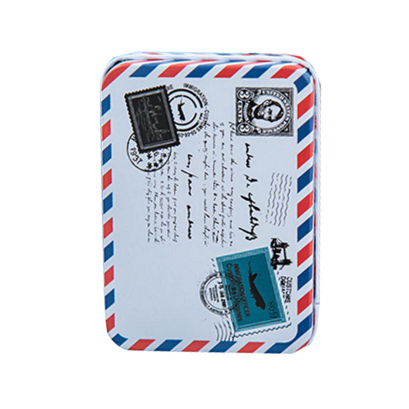 Peerless Mini Cartoon Envelope Stamps Stylepacking Boxes Jewelry Small Storage Boxes Cans Coin Earrings Headphones Stationery