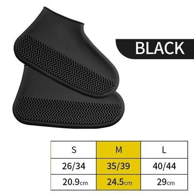 Shoes Cover Silicone Outdoor Non-slip Waterproof Shoe Covers Portable Rain Boots Women Rainproof Shoe Cover Men Teens Anti-sand