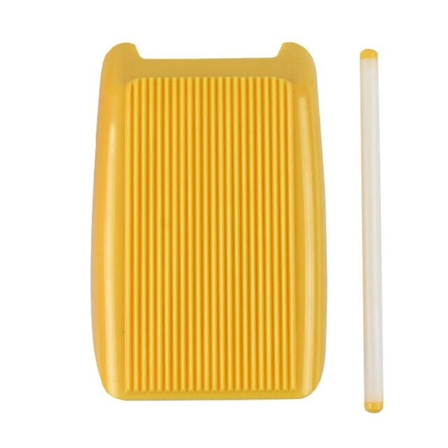 Spaghetti Macaroni Pasta Board Italian Macaroni Maker Noodle Maker Mould Manual Pasta Tool Kitchen Tool