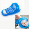 Bath Shower Foot Cleaning Slippers Massage Shoes Brush Pumice Stone Foot Scrubber Spa Shower Remove Dead Skin Feet Care Tool