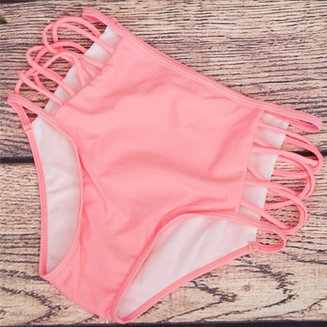 High Waist Swimwear Bottom