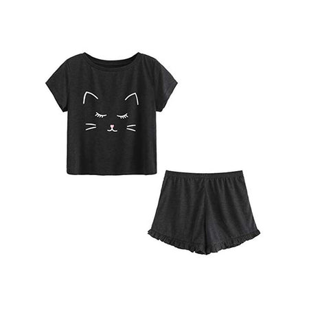 Cute Cat Pyjama Set
