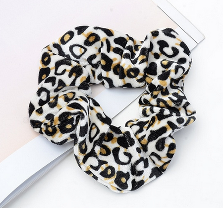 FREE ~ Animal Print Velvet Scrunchie