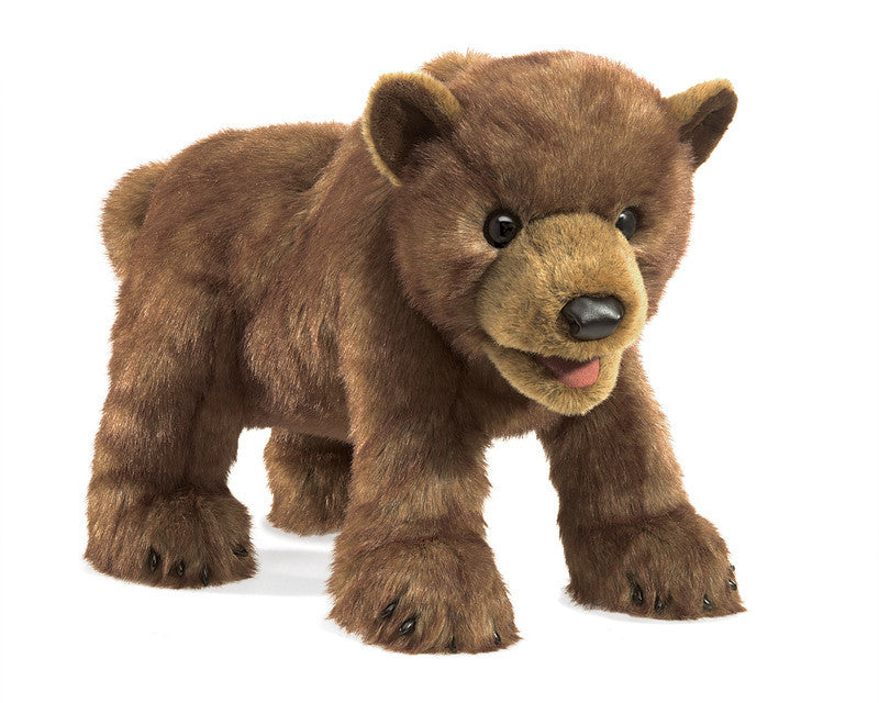 Folkmanis - Brown Bear Puppet
