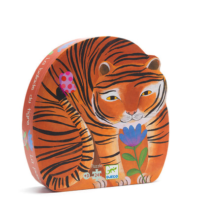 Djeco - The Tigers Walk Puzzle - 24pcs