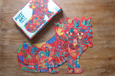 Djeco - Puzzle Art Lion - 150pcs