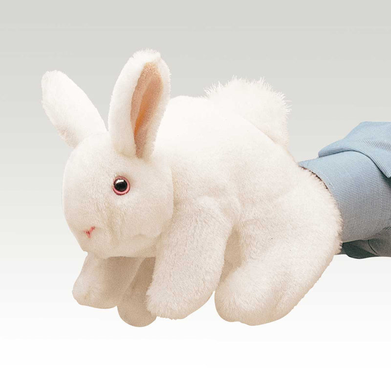 Folkmanis - White Bunny Rabbit