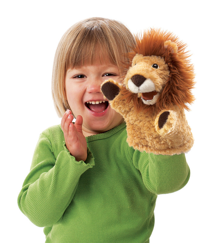 Folkmanis - Little Lion Puppet