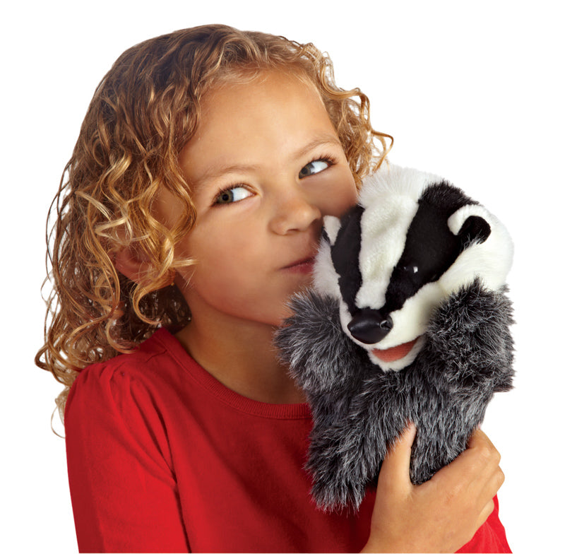 Folkmanis - Little Badger Puppet