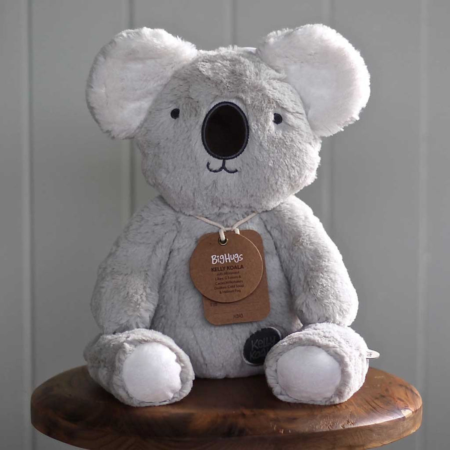 O B Design - Huggie Kelly Koala - Grey