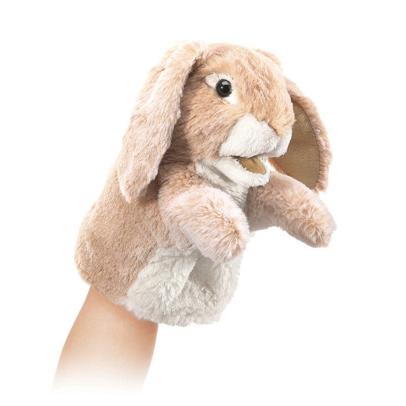 Folkmanis - Little Lop Rabbit Puppet