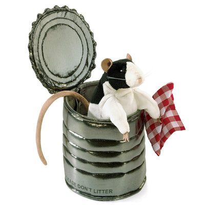 Folkmanis - Rat in a Tin Can Puppet