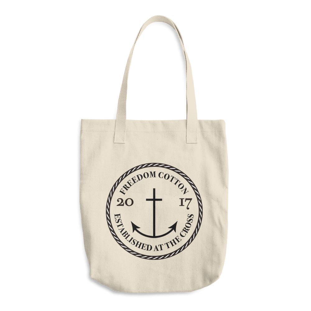 Buy Perfect Cotton Tote Bag with Freedom Cotton Logo now $19. 99