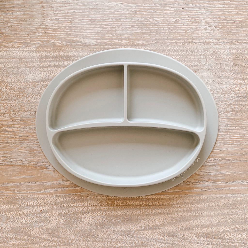 suction plate | taupe