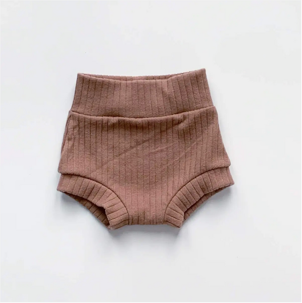 high waisted shorties | dusty rose