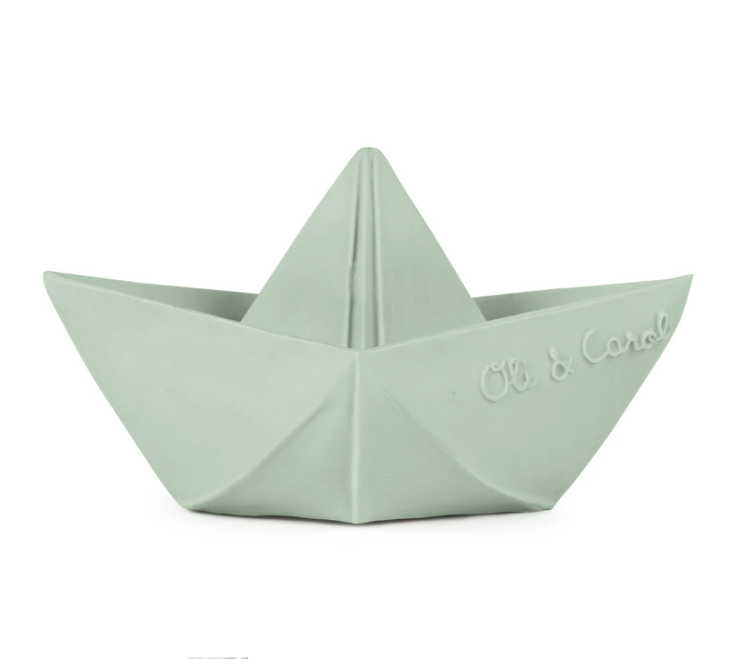 origami boat | mint