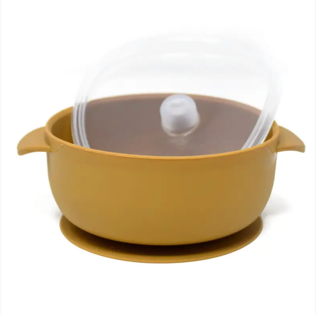 suction bowl | mustard