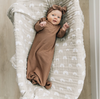 muslin swaddle | sand rainbow