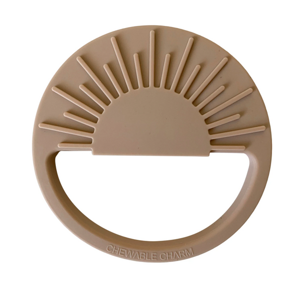 sun silicone teether | oat