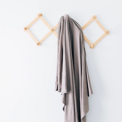 stretch swaddle | taupe