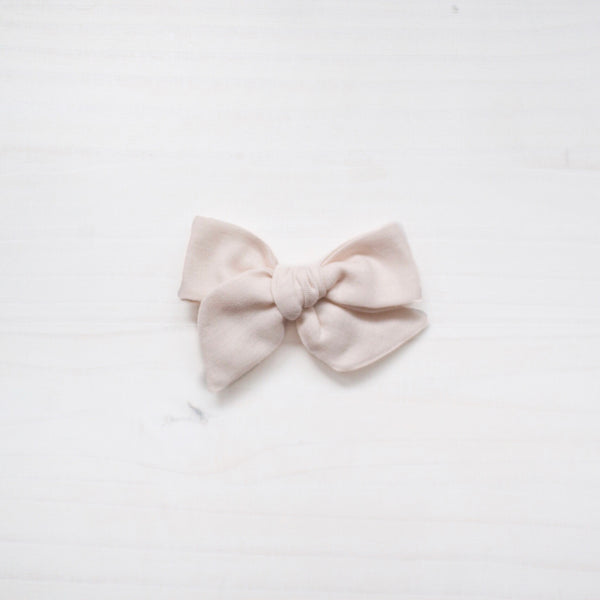 vintage bow - off white