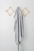 stretch swaddle | stone gray