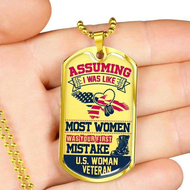 Most Women (1) Bulk Dog Tag Template