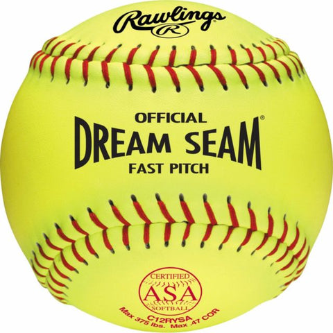 "Rawlings 12"" Synthetic Cover Dream Seam"