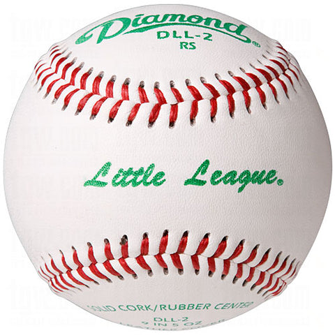 Diamond DLL-2 Little League Competition Grade RS Baseballs