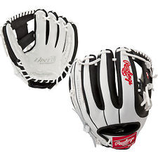 "Rawlings 11 3/4"" Liberty Advanced Fielding Glove - White/Black"
