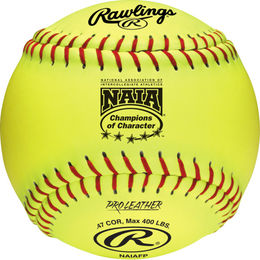 "Rawlings NAIA 12""  Fastpitch Softballs (dozen)"