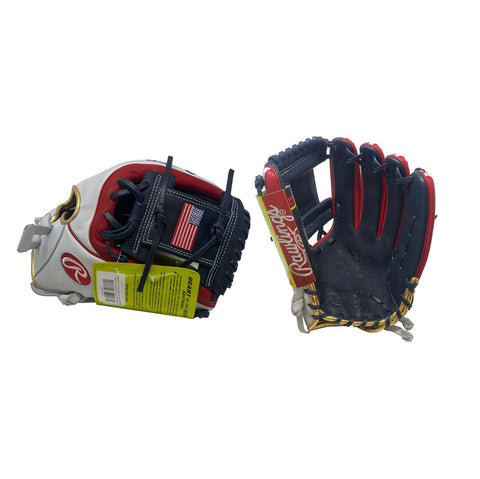 "Rawlings 12"" Heart of the Hide USA Softball Infield Glove"