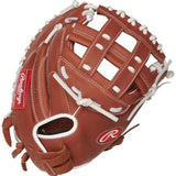 "Rawlings 33"" R9 Series Softball Catcher's Mitt"