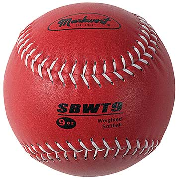 "Softball Weighted 12"" Training Ball"