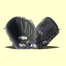 "Rawlings 12.5"" Storm Youth Softball Glove"