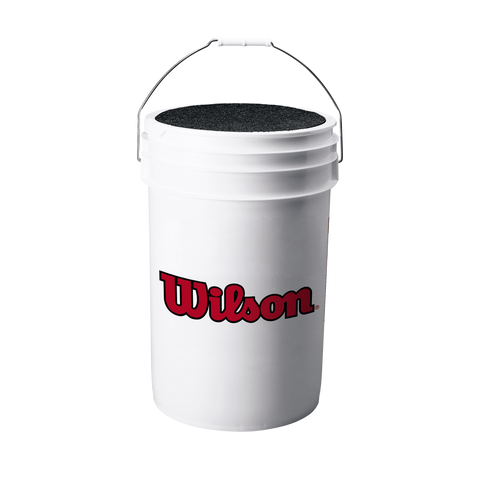 Wilson 6 Gallon White Bucket w/ Lid