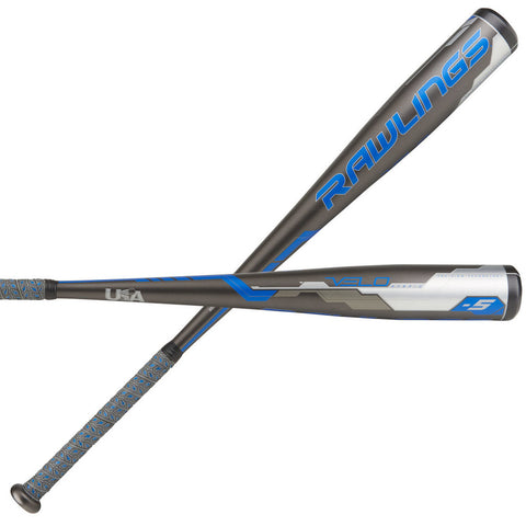 "Rawlings Velo (-5) 2 5/8"" Big Barrel Baseball Bat"