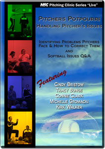 Pitchers Potpourri Handling Pitcher's Issues DVD