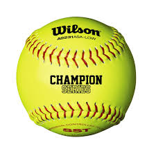 "Wilson ASA 12"" Leather Softballs WTA9031"