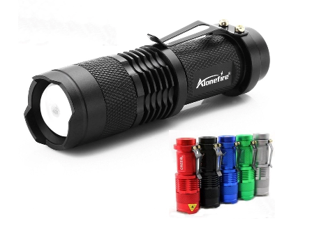 LED Flashlight 2000lm 3 Light Modes for Camping, Security,Tactical & General Use