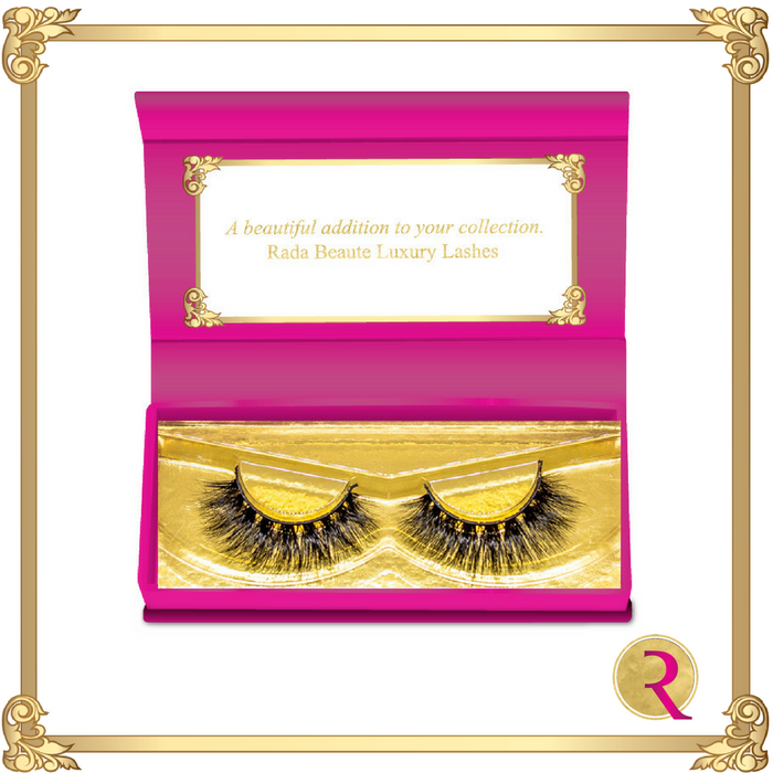 Mumbai Mink Lashes. Buy now at Rada Beaute.