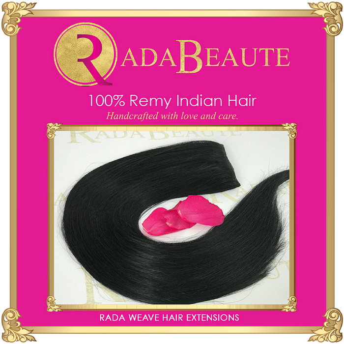 Midnight Diva weave extensions. Buy now at Rada Beaute.