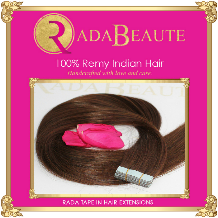 Melted Mocha Tape in extensions. Buy now at Rada Beaute.