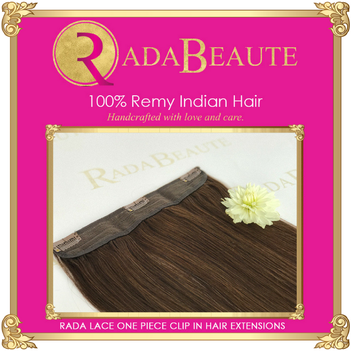 Decadent Chocolate lace in extensions. Buy now at Rada Beaute