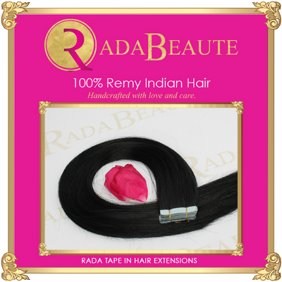 Lavish Espresso Tape in extensions. Buy your tape in hair extensions at Rada Beaute.
